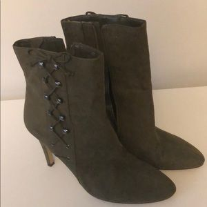 Olive Nine West Boots